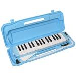 カラフル32鍵盤ハーモニカ MELODY PIANO P3001-32K ライトブルー