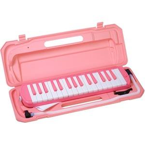 カラフル32鍵盤ハーモニカ MELODY PIANO P3001-32K サクラ - 拡大画像