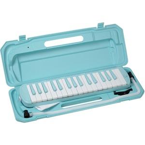カラフル32鍵盤ハーモニカ MELODY PIANO P3001-32K ソラ - 拡大画像