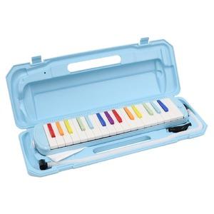 カラフル32鍵盤ハーモニカ MELODY PIANO P3001-32K NIJI/虹色 - 拡大画像