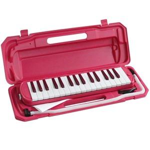 カラフル32鍵盤ハーモニカ MELODY PIANO P3001-32K ビビッドピンク - 拡大画像