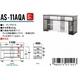 インテリアテレビラック(テレビ台) AS-11AQA 37V〜47V型まで対応 - 縮小画像2