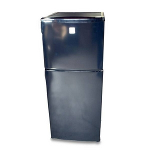 2ドア冷蔵庫 112L 1人〜3人家族にオススメサイズ! シンプル冷蔵庫 DAEWOO (大宇電子) DR-112B【訳ありアウトレット】 - 拡大画像