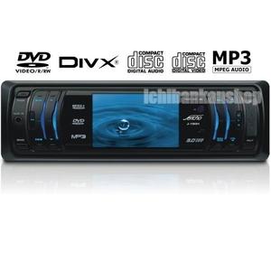 Jericho(ジェリコ) 車載DVDプレーヤー J-190H 1DIN 3型液晶搭載【DivX・MPEG4・MP3対応】AM/FM内蔵【25Wアンプ内蔵】【USB/MMC/SD対応】 - 拡大画像