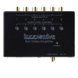 innovative(イノベイティブ) 映像分配器・ビデオ分配器 1IN-6OUT INNOV-L106VA - 拡大画像