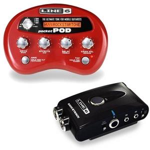 LINE6(ラインシックス) Pocket POD+BackTrack 限定セット アンプシミュレーター(エフェクター)とレコーダーのお買い得なセット - 拡大画像