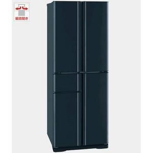 冷凍冷蔵庫 容量405L 切れちゃう冷凍 使いやすいケース収納式 三菱 MR-A41P-B レザーブラック - 拡大画像