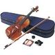 Hallstatt(ハルシュタット) 初心者でも安心なバイオリンセット ヴァイオリン初心者入門6点セット V28STEADY(ステディ) 39821 - 縮小画像1
