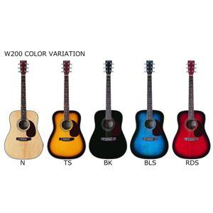 アコースティックギター初心者入門10点セットSepia Crue届いてすぐに始めるアコースティックギターW200入門10点セット! ブラック - 拡大画像