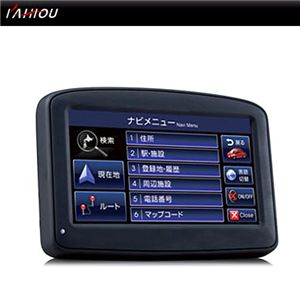 4.3インチ コンパクトナビゲーション 2GB GN-430 - 拡大画像