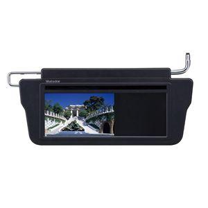 KAIHOU(海宝) 車検対応7インチサンバイザーモニターセット S700 ブラック - 拡大画像
