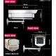 最高級【ダミーカメラ】赤外線暗視タイプ ダミー防犯カメラ 【A06】 - 縮小画像2