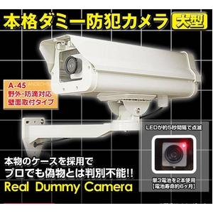最高級【ダミーカメラ】ダミー 防犯カメラ 【A45】  - 拡大画像