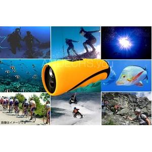 【小型カメラ】水中ビデオカメラ 水深10M 8G内蔵 Windows7対応【AN-W010 水中カメラ】 - 拡大画像