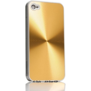 Ai-Style Series iPhone4 ハードケース 【Ai4-Sun-GD】 Type Sun GD(ゴールド - 拡大画像