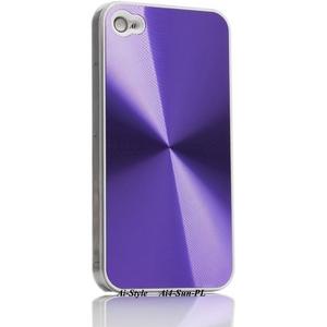 Ai-Style Series iPhone4 ハードケース 【Ai4-Sun-PL】 Type Sun PL(パープル) - 拡大画像