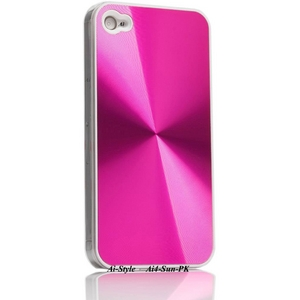 Ai-Style Series iPhone4 ハードケース 【Ai4-Sun-PK】 Type Sun PK(ピンク) - 拡大画像