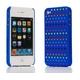 Ai-Style Series iPhone4 ケース 【Ai4-S-Dot-BL】(ブルー)替玉7色各16個付 - 縮小画像2