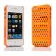 Ai-Style Series iPhone4 ケース 【Ai4-S-Dot-OG】(オレンジ)替玉7色各16個付 - 縮小画像2