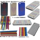 Ai-Style Series iPhone4 ケース 【Ai4-S-Dot-PK】(ピンク)替玉7色各16個付 - 縮小画像3