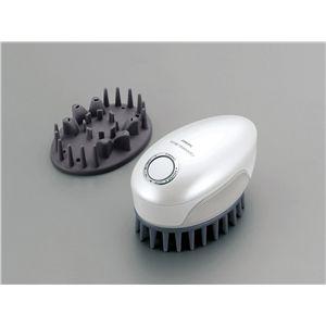 TWINBIRD(ツインバード) 頭皮洗浄ブラシ モミダッシュPRO SH-2793PW - 拡大画像