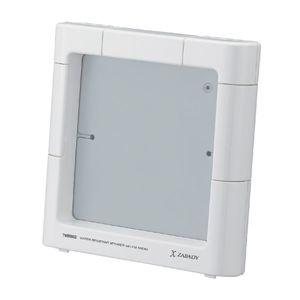 TWINBIRD(ツインバード) FMラジオ付防水スピーカー X ZABADY AV-J122W-H ホワイト - 拡大画像