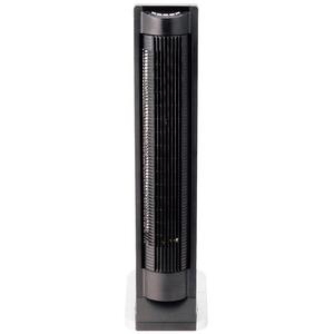 タワー扇風機 リモコン式 KIR-381 ブラック - 拡大画像
