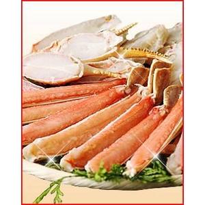 【カット済】ボイルずわい蟹どーんと1.2kg!! - 拡大画像