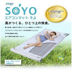 ATEX(アテックス) エアコンマット SOYO(そよ) 送風のみ AX-HM1200 - 拡大画像