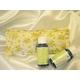 寝ながら目元のセルフケア 自然派アロマ温熱アイパック レンジ使用(繰り返し使える)ベージュ&黄色の花柄 - 縮小画像4