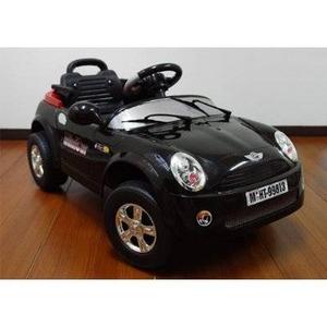 電動乗用ラジコン MINI CAR ミニクーパータイプ ブラック  - 拡大画像
