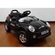 電動乗用ラジコン MINI CAR ミニクーパータイプ ブラック  - 縮小画像1