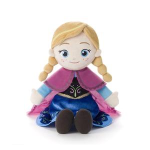 アナと雪の女王 うたって♪ おしゃべり! ぬいぐるみ アナ - 拡大画像