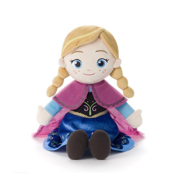 アナと雪の女王 うたって♪ おしゃべり! ぬいぐるみ アナ