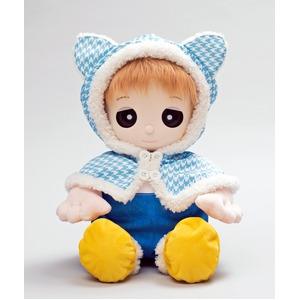 夢コレ46 猫耳付きポンチョドレス - 拡大画像