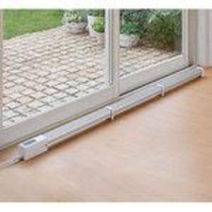窓下ヒーター(結露防止ヒーター) 150cm 転倒感知/温度過昇防止/切り忘れ防止機能付き - 拡大画像