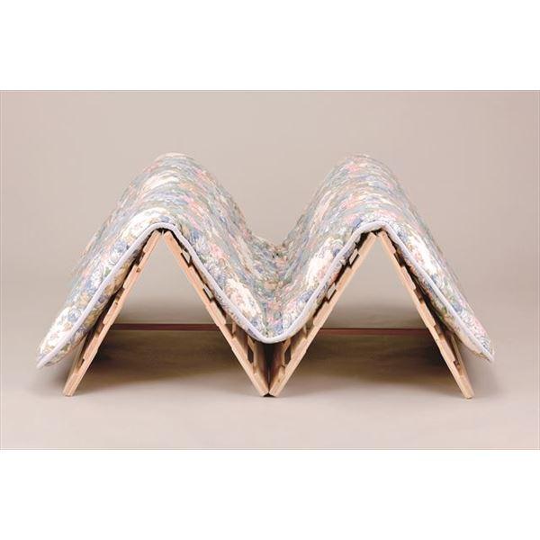 ひのき 四つ折りベッド