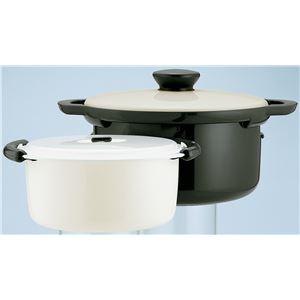 レンジでかんたんエコ調理鍋/保温調理器具 【30×24.5×16.1cm】 両手鍋 省エネ 845g