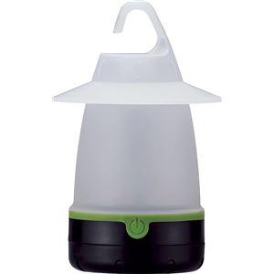 ランタン型 LEDライト/照明器具 【直径約110mm×170mm】 ライト5色 連続点灯時間120h以上 単3電池対応 ルーミー