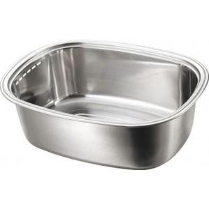 小判型洗い桶(ミラー) - 拡大画像