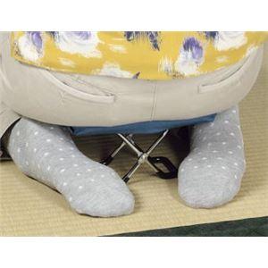 正座椅子/高座椅子 【205×125×125mm】 重さ440g 日本製 折りたたみ式 座面部綿100% 巾着袋付き 『しびれ〜ず』 〔法事 法要〕