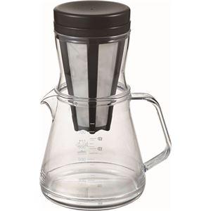 コーヒーサーバーストロン750(850ml) 2Wayドリッパーセット ブラック TW-3760