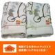 あったか発熱毛布 ホットテックス(HOT TEX) ニューマイヤー毛布 シングル ルント柄ベージュ - 縮小画像2