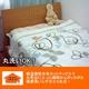 あったか発熱毛布 ホットテックス(HOT TEX) ニューマイヤー毛布 シングル ルント柄グリーン - 縮小画像1