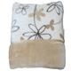 あったか発熱毛布ホットテックス(HOT TEX) 衿付合わせ毛布 シングル プリモ柄ベージュ - 縮小画像6