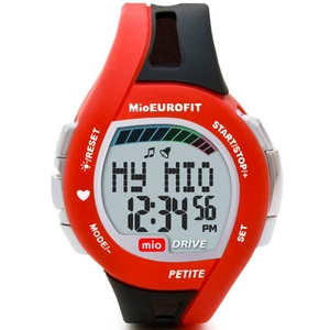 Mio(ミオ) 心拍計測機能付きスポーツ腕時計 Drive Petite(ドライブ プチ) - 拡大画像