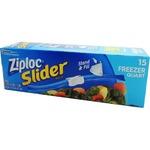 Ziploc イージージッパー フリーザーバック 15P 【3個セット】