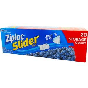 Ziploc イージージッパー ストレイジバック 20P 【3個セット】 - 拡大画像