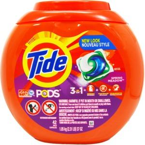 洗濯用洗剤 TIDE PODS(タイドポッズ)スプリングメドー 42回分 - 拡大画像