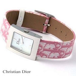 【訳あり・在庫処分】Christian Dior(クリスチャンディオール) トロッター ピンク 052110A008 - 拡大画像